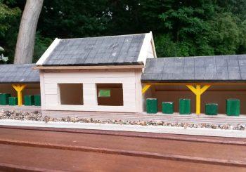 Maquette nieuwbouw bijenvereniging