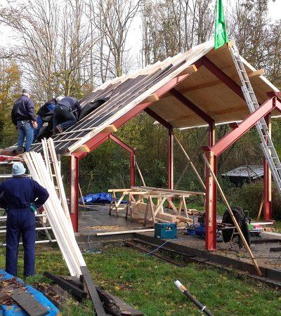 Het dak moet af